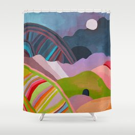 Landscape Study #1 Shower Curtain