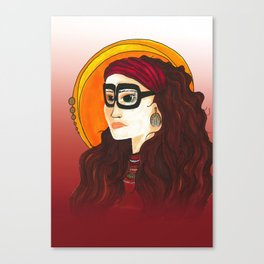 Seer Canvas Print