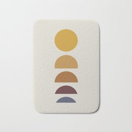 Minimal Sunrise / Sunset Bath Mat