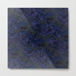 Tahitian Blue Metal Print