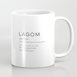 Lagom Definition Coffee Mug