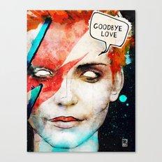 Ziggy Stardust/David Bowie Canvas Print