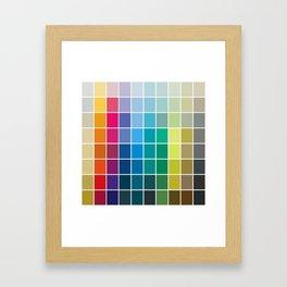 Colorful Soul - All colors together Framed Art Print