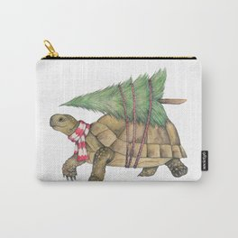 Christmas tortoise Carry-All Pouch