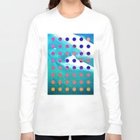 safari Long Sleeve T-shirts featuring SURF SAFARI by Wesley Bird