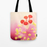 hibiscus Tote Bags featuring Hibiscus by Laura Ruth