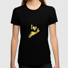 Gold Nova Scotia T-shirt