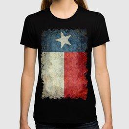 Texas flag, Retro style Vertical Banner T-shirt