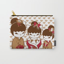Sweetest Blossom  Carry-All Pouch