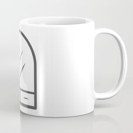 Mirror from the hallway and bathroom elements in Design Fashion Modern Style Illustration Coffee Mug