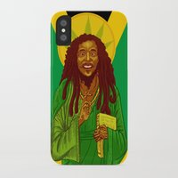 marley iPhone & iPod Cases featuring St. Marley by ofGiorge