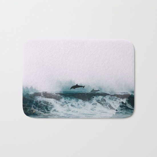 *The Song of Freedom* #society6 Bath Mat