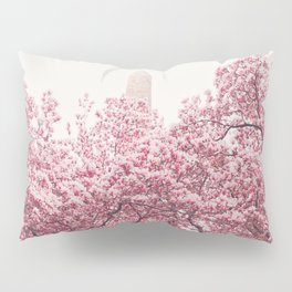 New York City - Central Park - Cherry Blossoms Pillow Sham