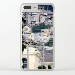 The Tangled Webs We Weave Clear iPhone Case