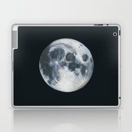 Moon Portrait 1 Laptop & iPad Skin