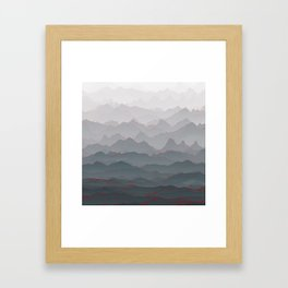 Mountains of Madness I Framed Art Print