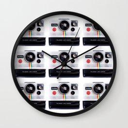 polaroidx9 Wall Clock