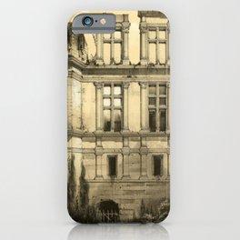 Chateau Ruins iPhone Case