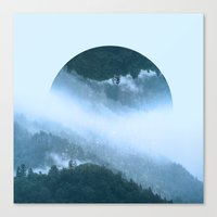 witchoria Canvas Prints featuring It's Raining Zen by witchoria