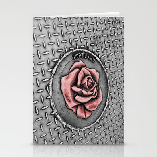 The rose beneith my feet Stationery Cards