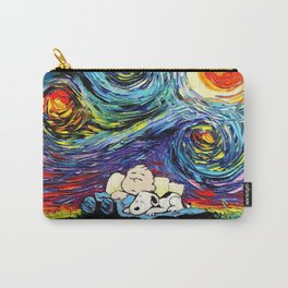 sleeping stary night snoopy Carry-All Pouch