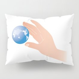 save the earth Pillow Sham