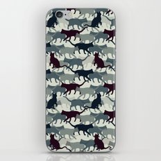 Cat Camo iPhone & iPod Skin