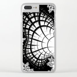 ABSTRACT.OBLIVION Clear iPhone Case