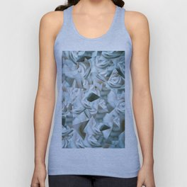 Abstract roses Unisex Tank Top