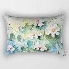 Daisys Rectangular Pillow