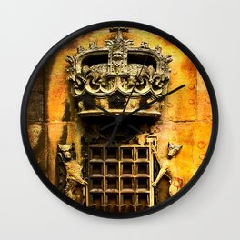Windsor castle crest Wall Clock