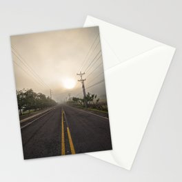 Morning Road Trip Stationery Cards