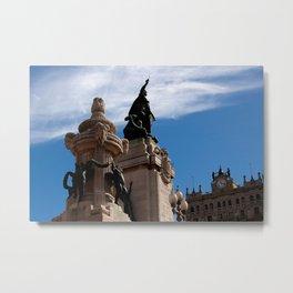 """""""Monumento de los Dos Congresos"""" Metal Print"""