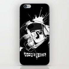 Punk's Dead iPhone & iPod Skin