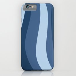 Blue Waves* iPhone Case