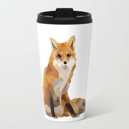 Geometric Fox Travel Mug