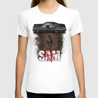 sam smith T-shirts featuring Sam by Six Eyed Monster