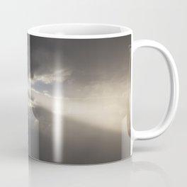 Stormy Sky with Sunbeams and Rain Coffee Mug