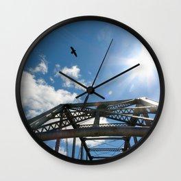 The Cushman Street Bridge Wall Clock