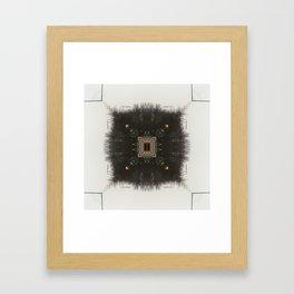 Neural Forest  Framed Art Print