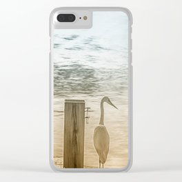 BE STILL... Clear iPhone Case