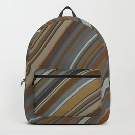 Mild Wavy Lines II Backpack