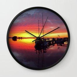 Night Wind's Woman Wall Clock
