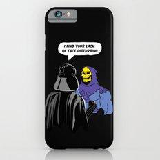 Vader Skeletor I Find your lack of face disturbing  iPhone 6s Slim Case