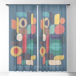 Miles and miles Sheer Curtain