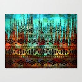 Southwest Icicles Canvas Print