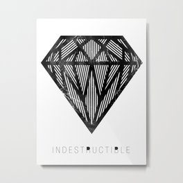 VISION CITY - INDESTRUCTIBLE Metal Print
