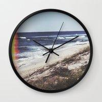 turtles Wall Clocks featuring Turtles by Mermaid's Coin Surf Art * by Hannah Kata