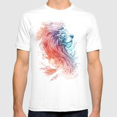 Sea Lion Mens Fitted Tee LARGE White