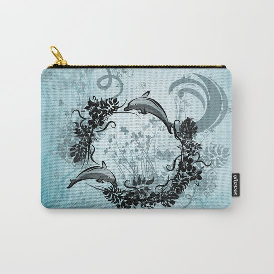 Cute dolphin Carry-All Pouch